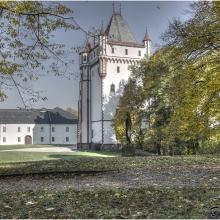Bílá věž Hradeckého zámku