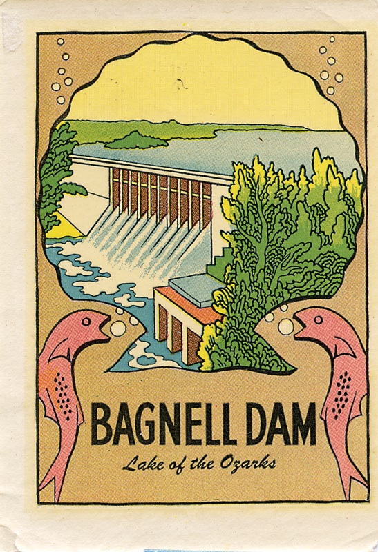 Decal Bagnell Dam