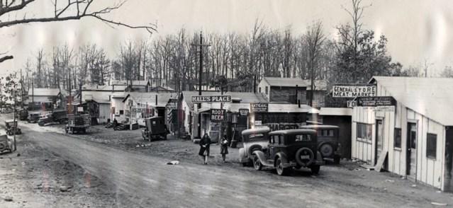 Old Bagnell-street scene
