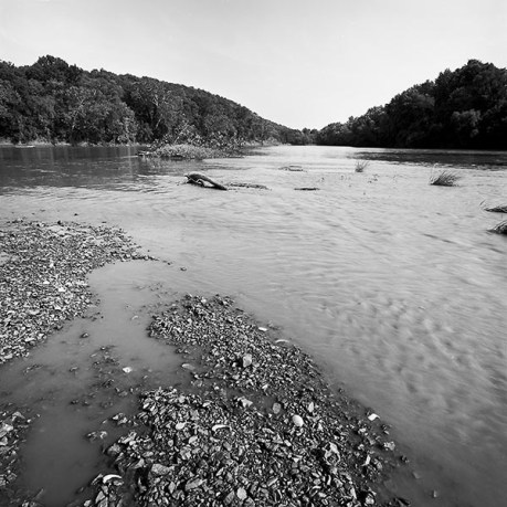 OR gravel bars-paddlefish