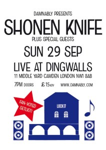 Shonen Knife - Dingwalls