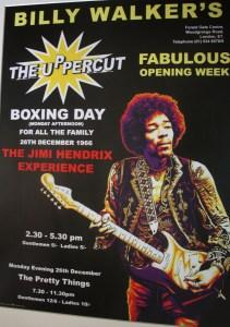 Jimi Hendrix in Forest Gate