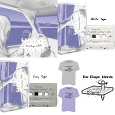 The Magic Words (Lisa From Wussy) Remastered Compilation Tape & T-Shirt Bundle
