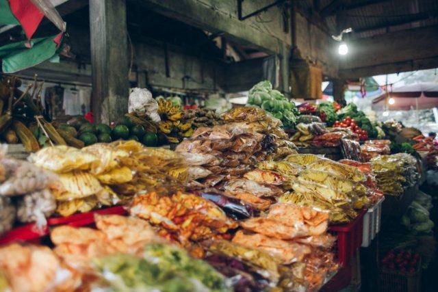 Bali Markt Obst