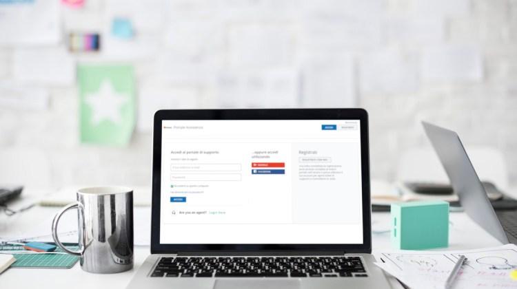 nuovo portale assistenza clienti