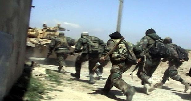 دام برس : دام برس | مسلحو سعسع ينضمون الى الجيش السوري