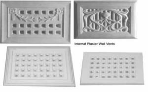 internal plaster wall vents
