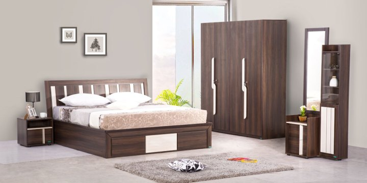 Bedroom furniture design online india for Best furniture sites india