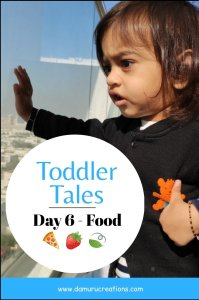 Food tales of a toddler