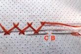 Křížkový steh - spojovací