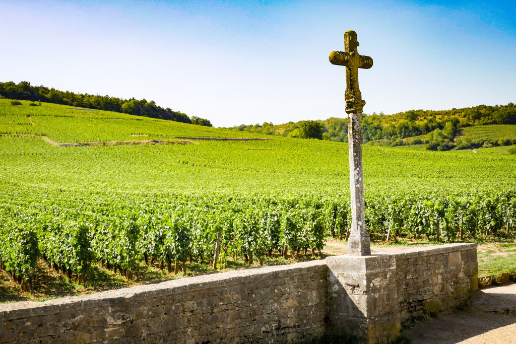 Domaine de la Romaneé-Conti and cross