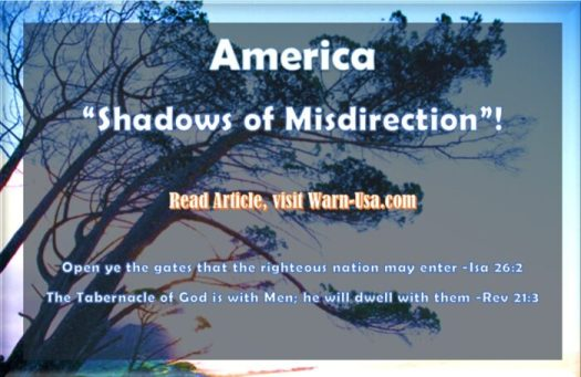 "AMERICA ""SHADOWS OF MISDIRECTION"" Shadows of Misdirection"