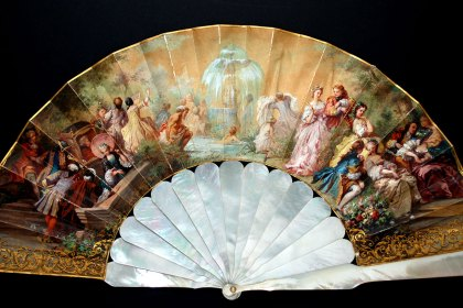 evantai hand fan The Fan Museum London