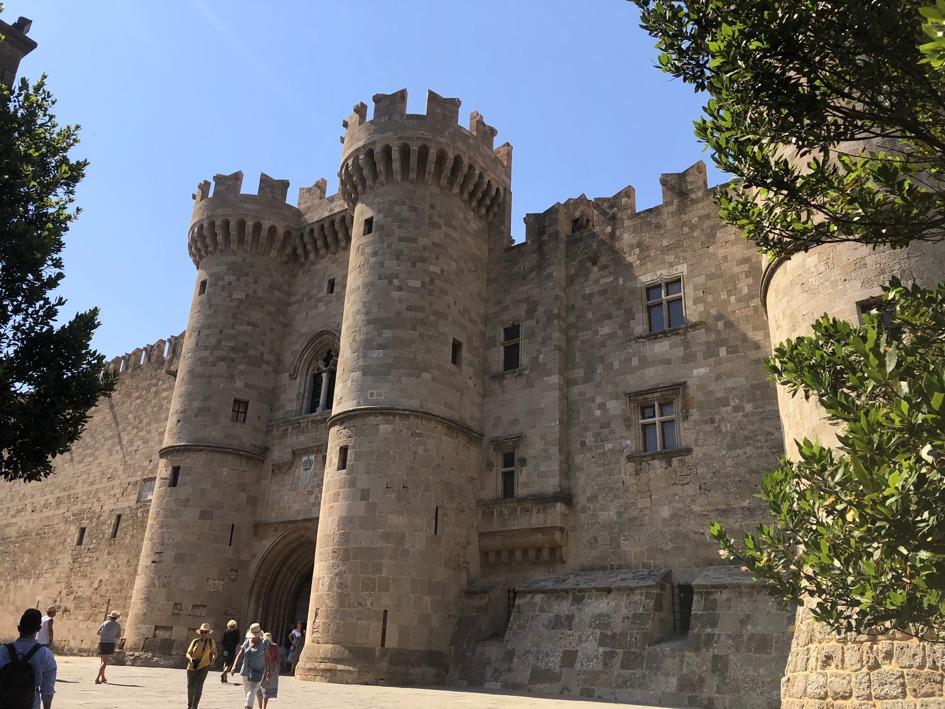 intrarea in orasul vechi Rhodos