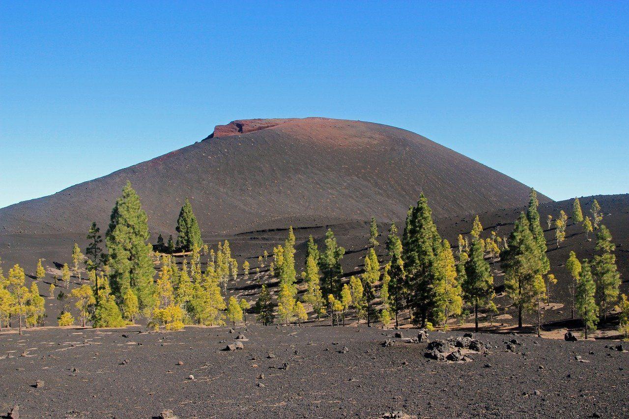 Tenerife, vulcanul Chinyero
