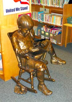 Eric Lehrfeld Statue