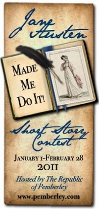 Jane Austen Made Me Do It Short Story Contest