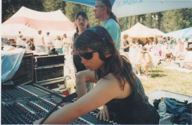 Mixing a concert in the mountains