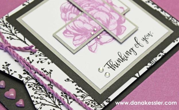 January 2016 SOTM Thinking of you card Beloved Bouquet #ctmh #cards #belovedbouquet #scraptabulousdesigns #ctmhSOTM