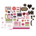 X7201C La Vie En Rose Complements $5.95