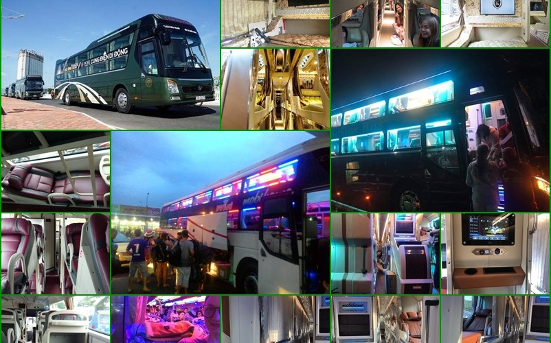 Sleeper Buses from Danang