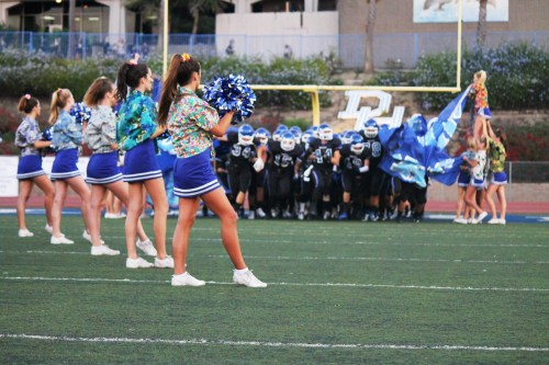 Dolphins far and wide are invited to the Dana Hills High School homecoming celebration, on Friday, October 11, marking the school's 40th anniversary. Photo by Andrea Papagianis