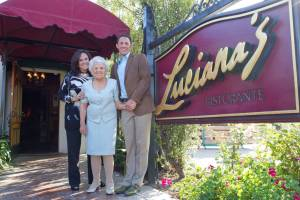 For 30 years, the Vallera-Luhan family has shared Italian traditions with south Orange County at Luciana's Ristorante. Photo by Rick Davitt