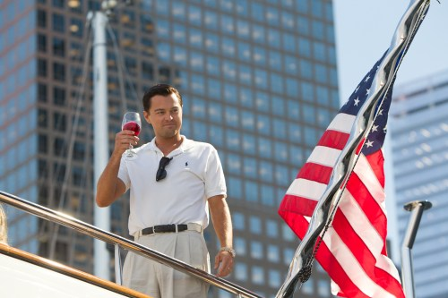 Leonardo DiCaprio in 'The Wolf of Wall Street' © 2013 Paramount Pictures