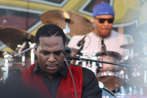 Robert Randolph and the Family Band at last year's Doheny Blues Festival. Photo by Andrea Papagianis