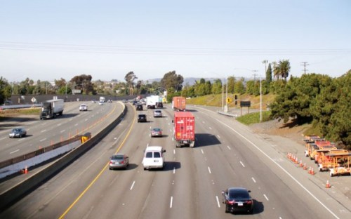 Interstate 5 will undergo some lane closures this weekend as OCTA begins widening construction. File photo