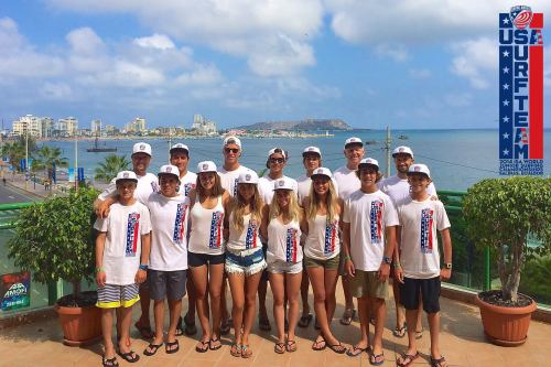 The Surfing America USA Surf Team. Courtesy photo
