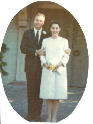 mom and dads wedding day