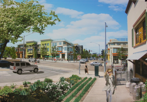 A portion of the Majestic project is shown here at Amber Lantern and Del Prado Avenue. Photo: Andrea Swayne