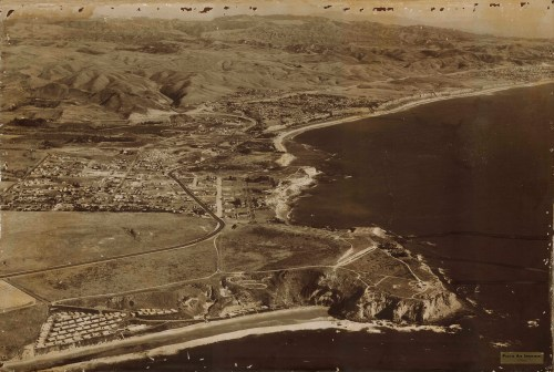Dana Point Harbor as commissioned by Assemblyman Bruce W. Sumner when the California Legislature voted to approve the use of California Tide Lands for the Dana Point Harbor, Dec. 14, 1960.  Photo: Olvera Collection