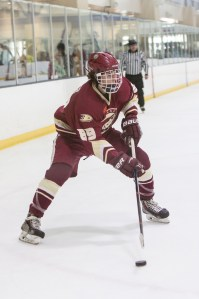 Max Kamper and the Capistrano Coyotes claimed the Anaheim Ducks High School Hockey League Division 2 championship on Feb. 25. Photo: Leslie Bird