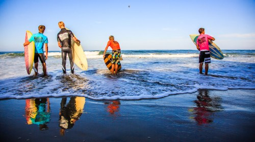 A scene from a past Cosmic Creek event at Salt Creek Beach. Photo: TMC
