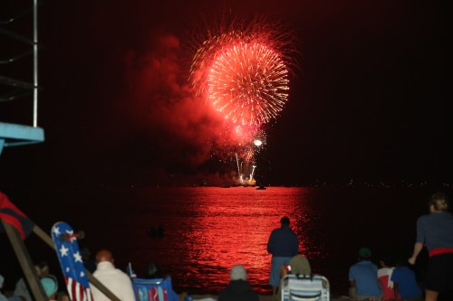 It was a sunny Fourth of July in Dana Point, as people made the most of their weekend around the busy town. Photo: Alan Gibby