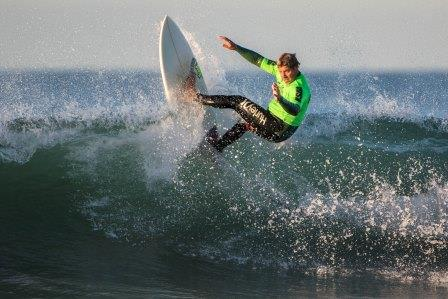 Jason Senn of San Clemente earned a runner-up spot in Senior Men 40-49 competition Saturday, Sept. 19 in Ventura, his first WSA event of the season. Photo: Jack McDaniel