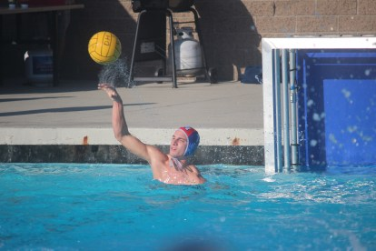 Dana Hills senior goalie Riley Zachary is second in the county in saves made this season. Photo: Steve Breazeale
