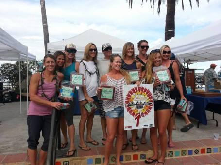 The Dana Outrigger Canoe Club women's team won the US Outrigger Championship on Sept. 12. Photo: Chris Silvester
