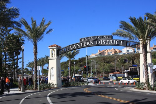 Dana Point Lantern District dedication ceremony and ribbon cutting, Nov. 16, 2015. Photo: Andrea Swayne