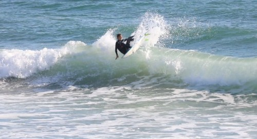 Rece DeLorenzo, 14, of San Clemente is our Grom of the Week. Photo: Courtesy