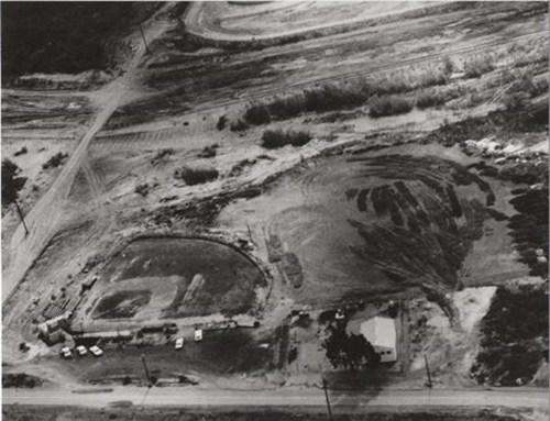 A little league baseball field on Del Obispo. Photo: Courtesy of the Olvera Collection.