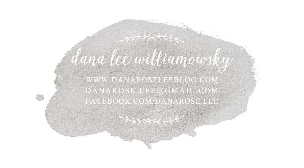 Logo, Design, Dana Rose Lee Blog, Home, Makeover, Business Card