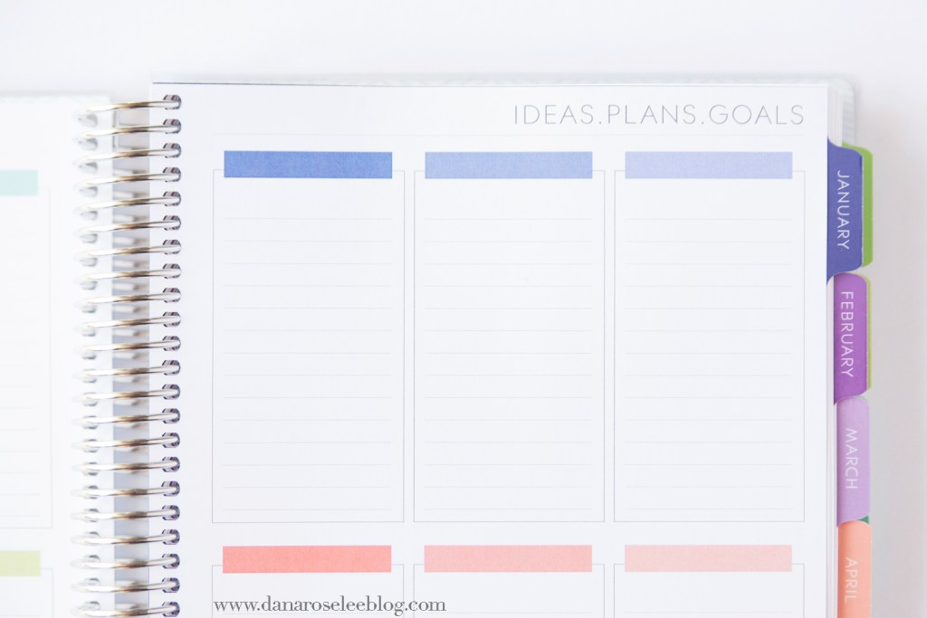 Planners, Goals, New Year, 2017, Plum Paper, Organization, Organized, Business, Custom