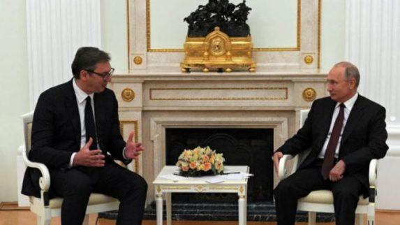 Vučić: Imao sam odličan i vrlo srdačan sastanak sa Putinom - Politika -  Dnevni list Danas