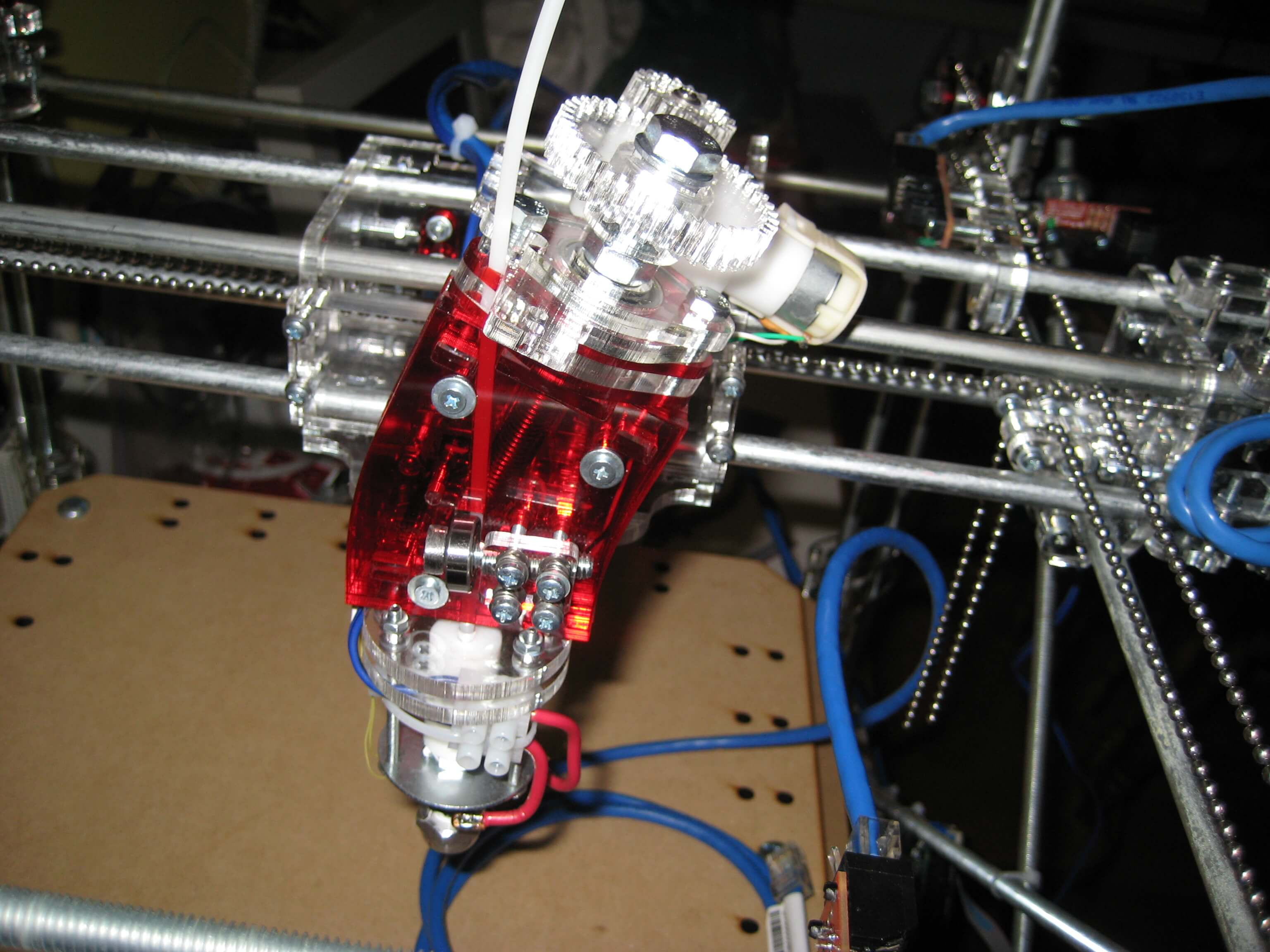 RepRap/CoreXY: Progress Report