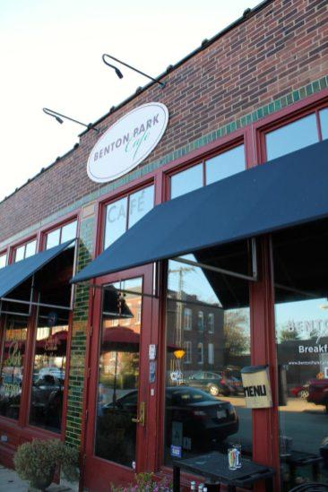 Benton Park CafeOne of the local favorites for breakfast Benton Park Cafe Website
