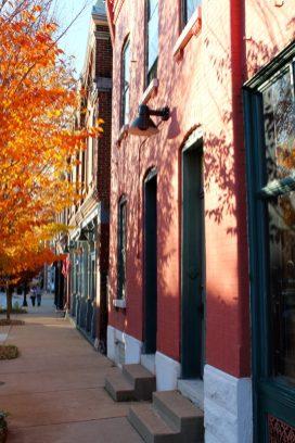 Benton Park ArchitectureThe tree lined streets make Benton Park a destination for the weekend walker crowd.