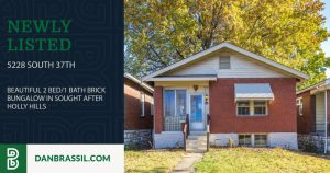 5228 South 37th: 2 Bed/1 Bath Brick Bungalow